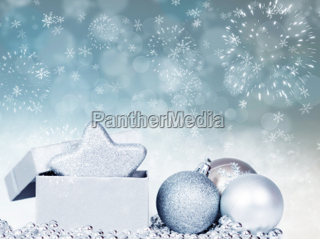 holiday background with sparkling lights and