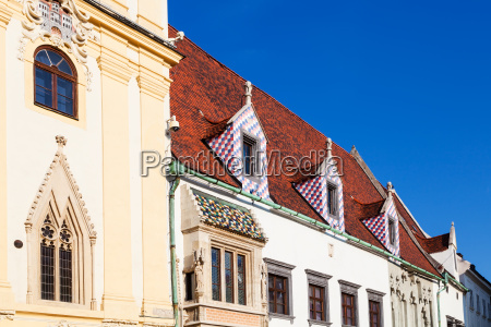 buildings of old town hall in