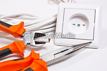 elektrowerkzeuge kabel und steckdose
