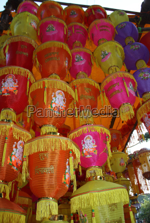 lanterns tower