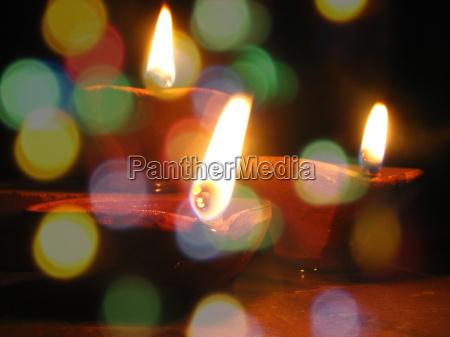 beautiful diwali lamps
