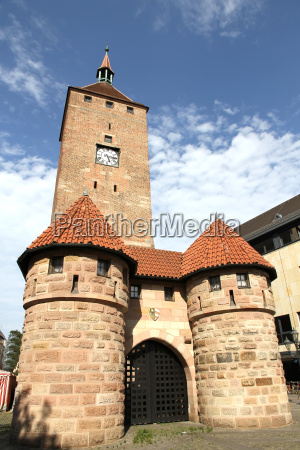 the white tower in nuremberg