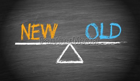 neue und alte balance konzept