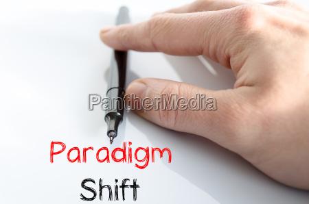 paradigmenwechsel textkonzept