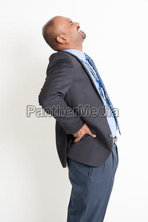 businessman backpain