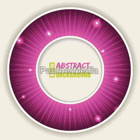 abstract pink background with text container