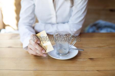 bereit kaffee mit kreditkarte bezahlen
