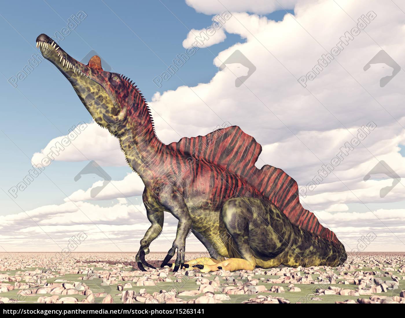 Dinosaurier ichthyovenator lizenzfreies bild 15263141 - Wandtattoos dinosaurier ...