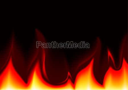 flames background illustration