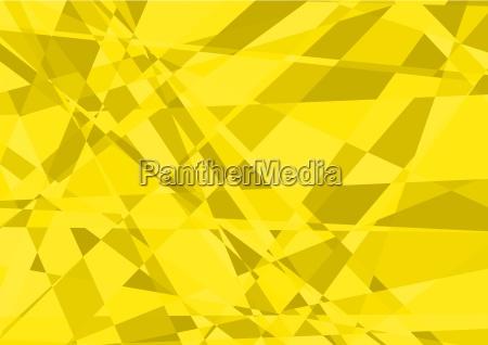 yellow crystalline background