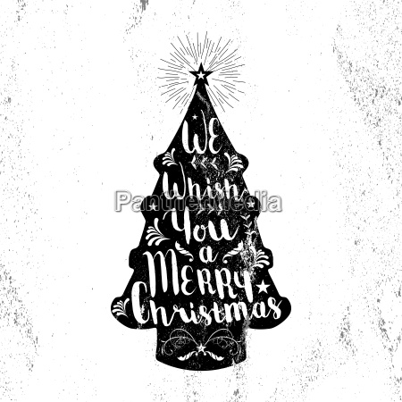 merry christmas hipster vintage xmas black