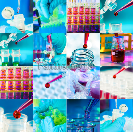 working in the microbiological laboratory medical