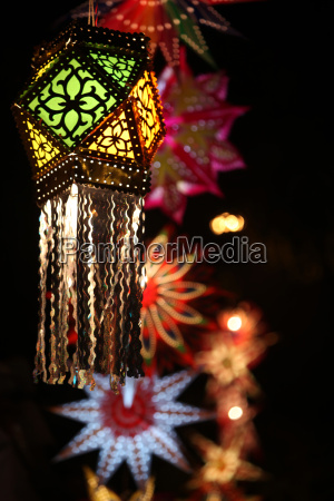 traditional diwali lantern