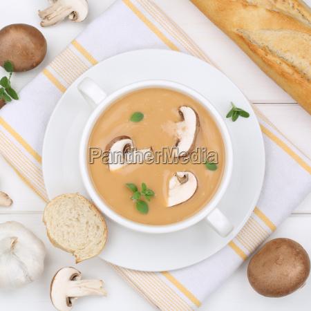 mushroom soup mushroom mushrooms soup in