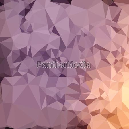 amethyst blue orange abstract low polygon