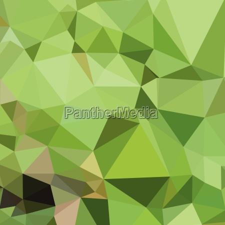 dollar bill green abstract low polygon