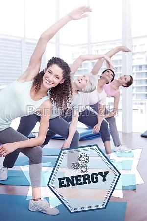 energy against hexagon