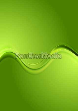 bright green wavy background
