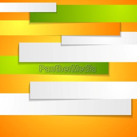 abstrakter unternehmenshintergrund mit papierstreifen