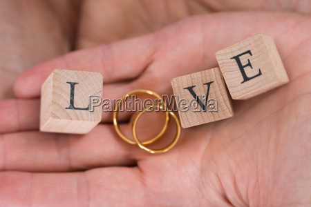 close up of hands with the