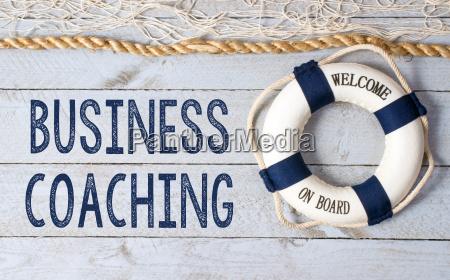business coaching willkommen an bord