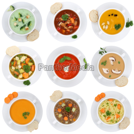 collage soup soups tomato soup vegetable