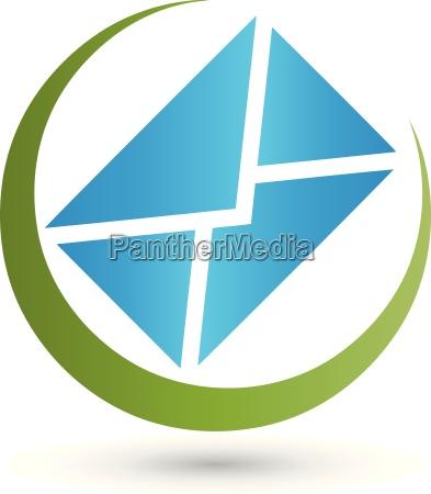 brief logo bewegung post e mail