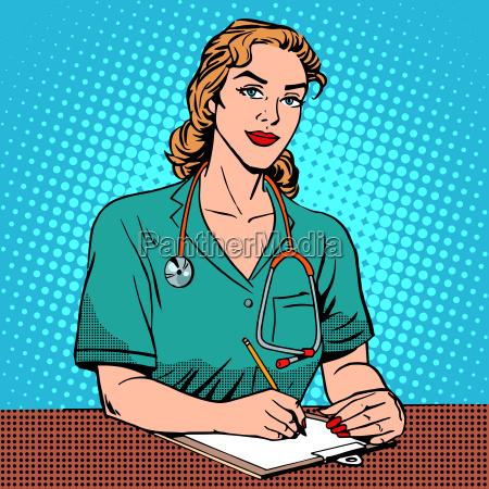 intern rezeption im krankenhaus