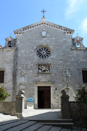 church in labin croatia