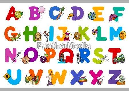 educational cartoon alphabet for kids