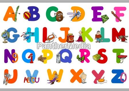 educational alphabet set for kids