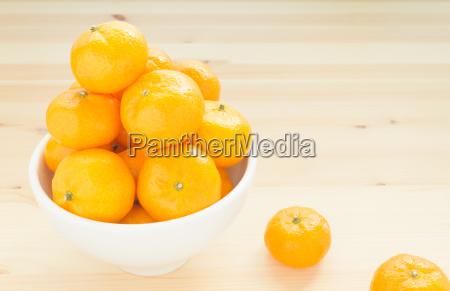mandarin oder china orange in der