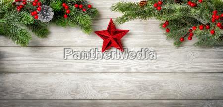 seasonal wooden background