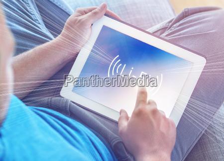 li fi high speed wireless connection