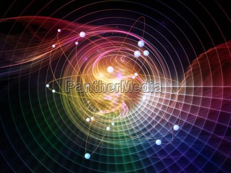 atom beschleunigung