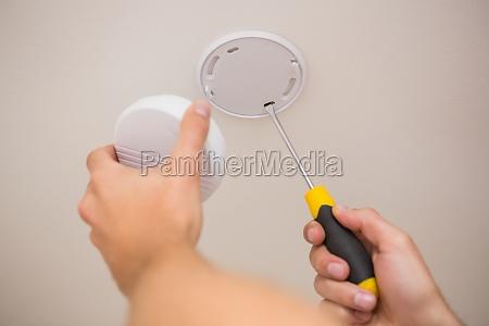 handyman installation rauchmelder