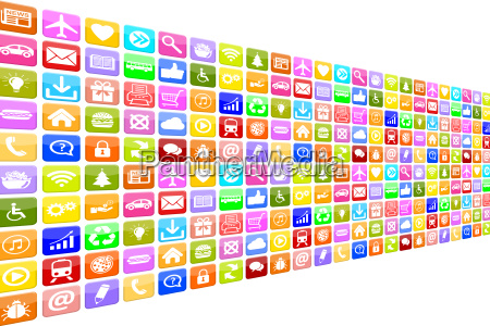 application apps app icon icons set