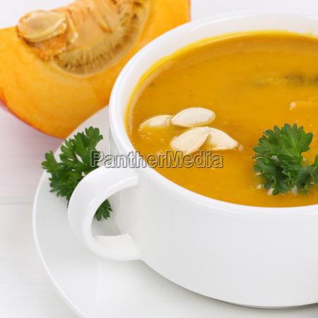 pumpkin soup pumpkin soup close up
