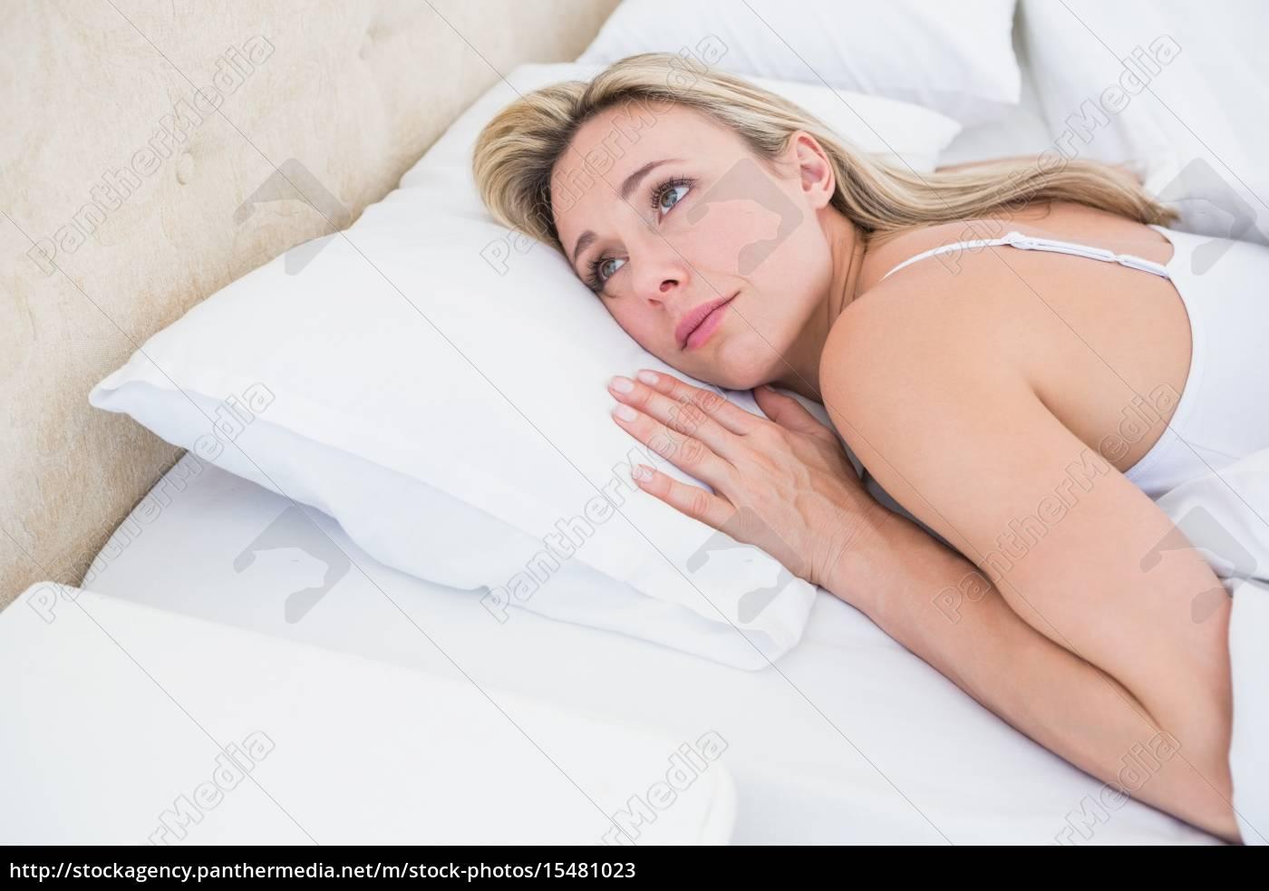 Im Bett Liegend