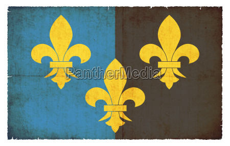 grunge flagge monmouthshire grossbritannien