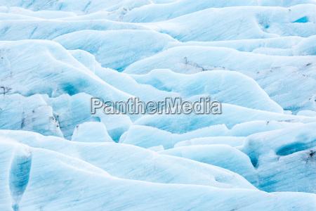 svinafell glacier island