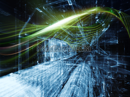 digital paradigms of wave particle