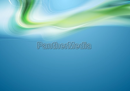 bright abstract wavy background