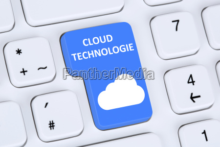 symbol cloud computing technologie technology im