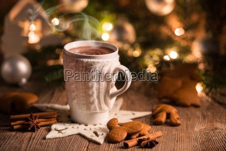 christmas chocolate drink