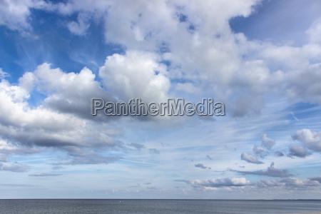 sandy beach on the baltic sea