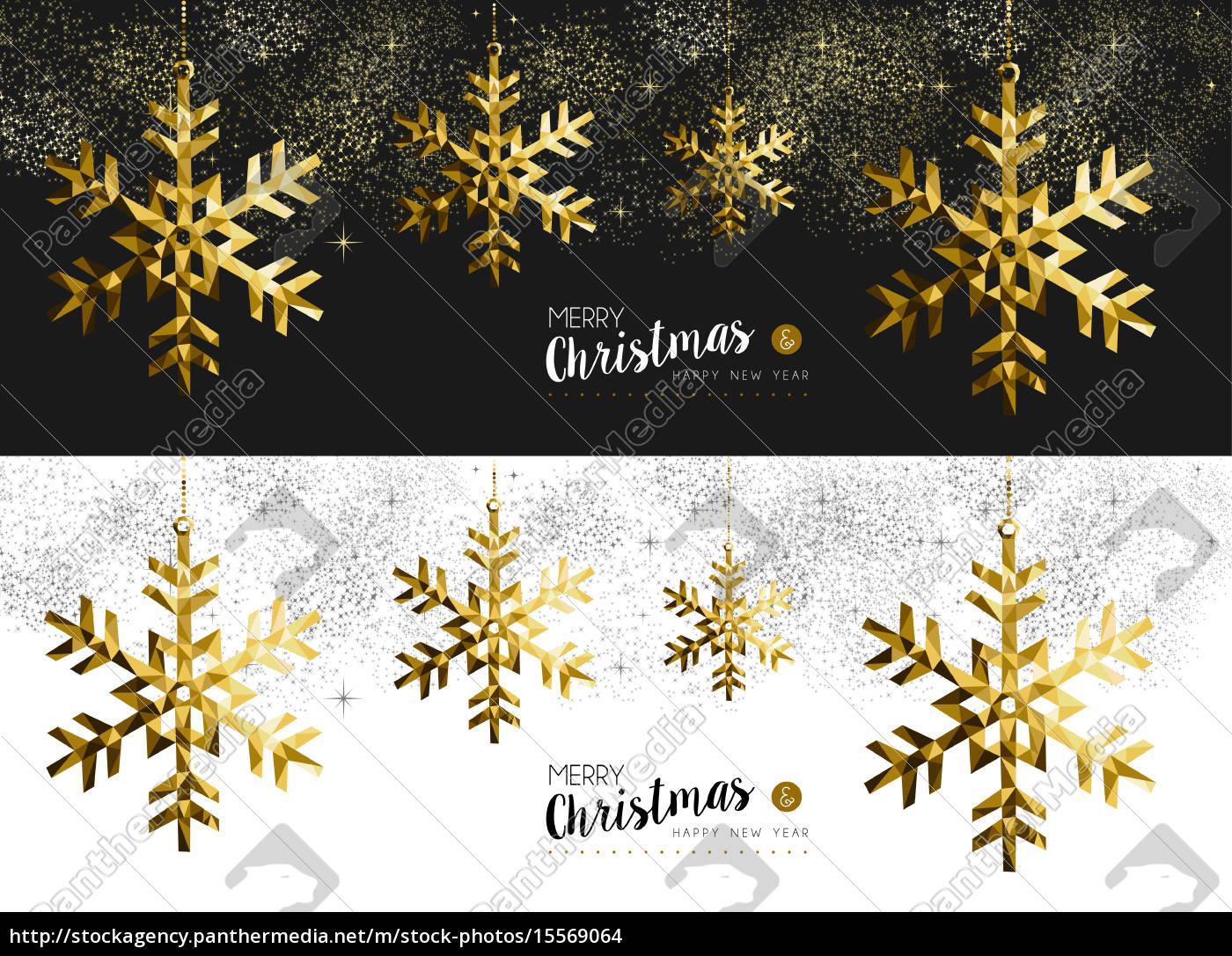 Frohe Weihnachten Gold.Lizenzfreies Foto 15569064 Frohe Weihnachten Neujahr Social Media Banner Gold