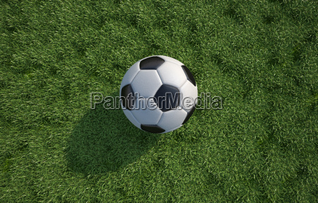 soccerfootball ball close up on