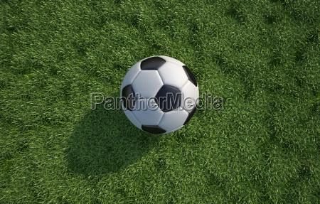 fussball fussball ball in der naehe