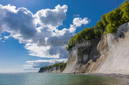 costa del mar baltico nellisola di